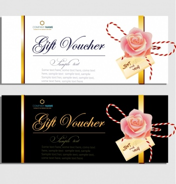 Gift voucher template vector free vector download (18,436 Free