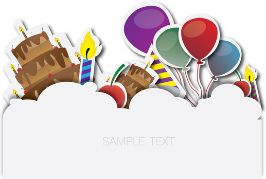 Birthday banner backgrounds free vector download (51,422 Free vector
