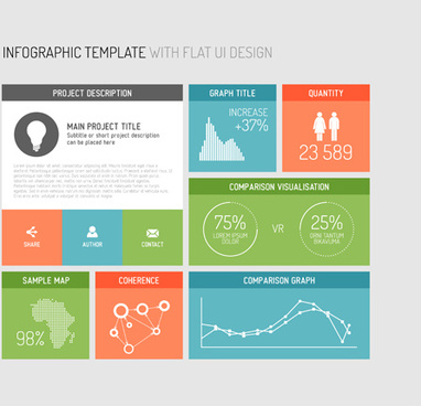 Vector infographic template free vector download (19,205 Free vector