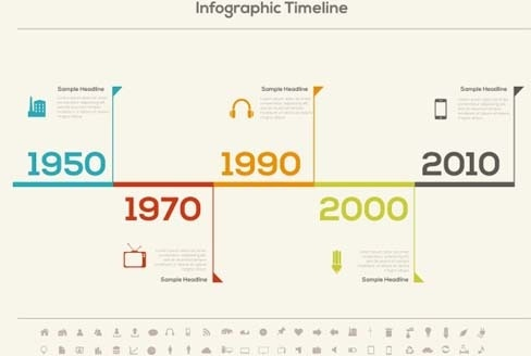 Vector timeline for free download about (9) vector timeline sort by