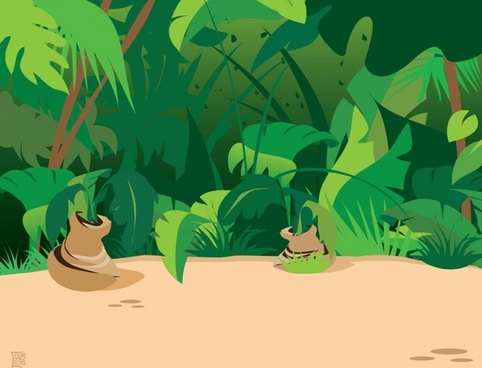 Free rainforest vectors free vector download (7 Free vector) for