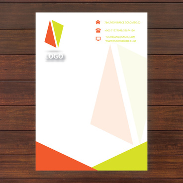 Vector letter headed paper free vector download (8,179 Free vector