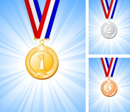 Medal free vector download (316 Free vector) for commercial use - gold medal templates