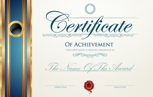 Modern certificate design free vector download (7,443 Free vector