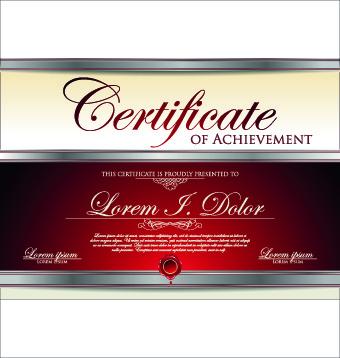 Modern certificate design free vector download (6,939 Free vector