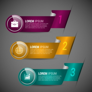 Modern infographic template free vector download (23,295 Free vector
