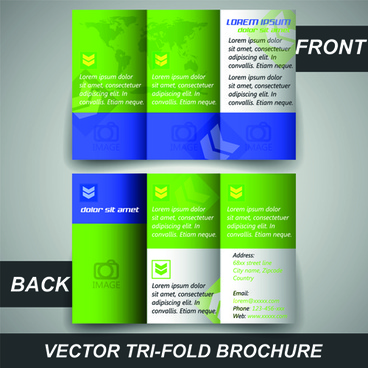 Tri fold brochure free vector download (2,740 Free vector) for - tri brochures