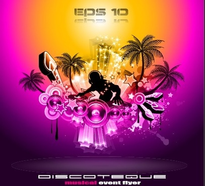 Party flyer background free free vector download (51,140 Free vector
