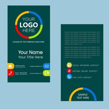 Name card ai free vector download (58,413 Free vector) for - name card format