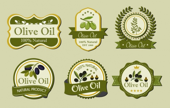 Olive oil label free vector download (8,988 Free vector) for