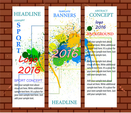 Banner templates for publisher free vector download (106,934 Free