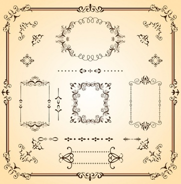 Scroll border free vector download (6,340 Free vector) for