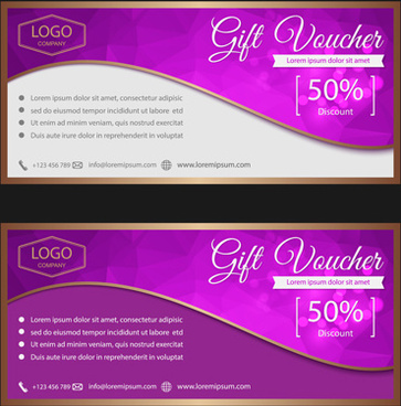 Gift voucher template vector free vector download (15,719 Free - gift voucher template
