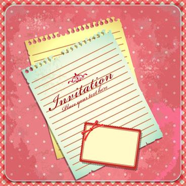 Birthday invitation cards design free vector download (13,475 Free