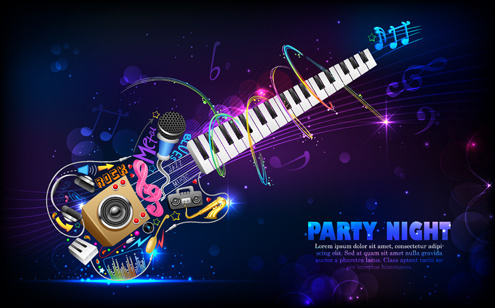 Party flyer background free free vector download (49,212 Free vector