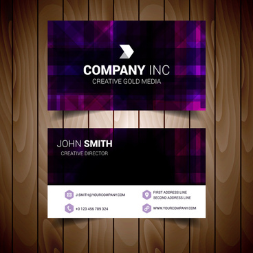 Purple background business card free vector download (64,568 Free