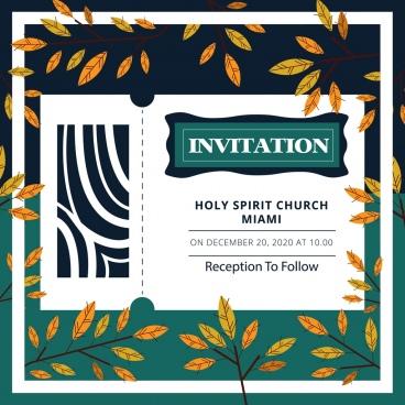 Vintage birthday invitation template free vector download (23,880