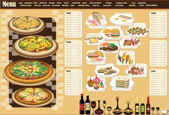 Restaurant menu book template free vector download (16,282 Free
