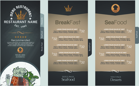 price menu template - Ozilalmanoof - price list design template