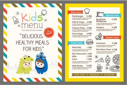 Restaurant menu template free vector download (14,160 Free vector - free restaurant menu template word
