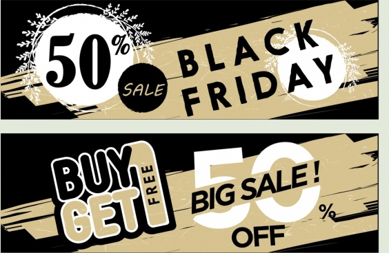 Promotional sale banner template free vector download (20,855 Free