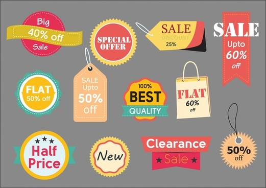 Collection sale tag free vector download (8,012 Free vector) for