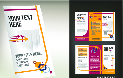 Tri fold brochure template free vector download (14,961 Free vector