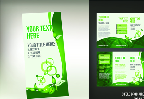 Tri fold brochure free vector download (2,864 Free vector) for