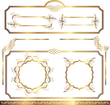 Simple certificate border frames free vector download (10,732 Free