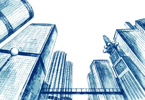 Grey Brick Wallpaper 3d Building Sketch Free Vector Download 5 364 Free Vector