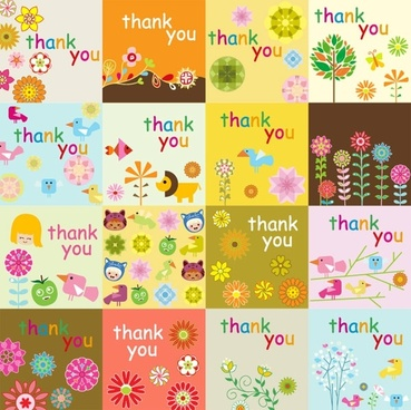 Free thank you card template free vector download (99,453 Free