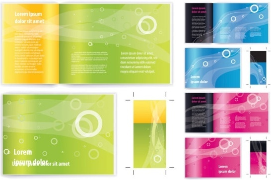 Leaflet design template free vector download (13,568 Free vector