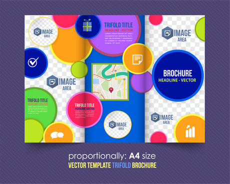 Blank brochure template free vector download (15,551 Free vector - blank brochure