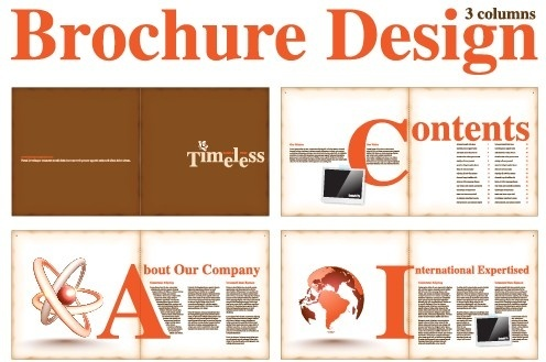 Magazine layout design free vector download (2,746 Free vector) for