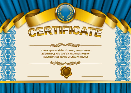Diploma certificate template free vector download (14,138 Free