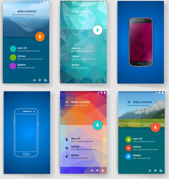 Adobe illustrator mobile app template free vector download (222,370 - Free App Template