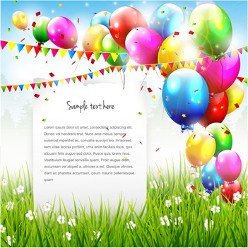 Birthday card free vector download (13,391 Free vector) for