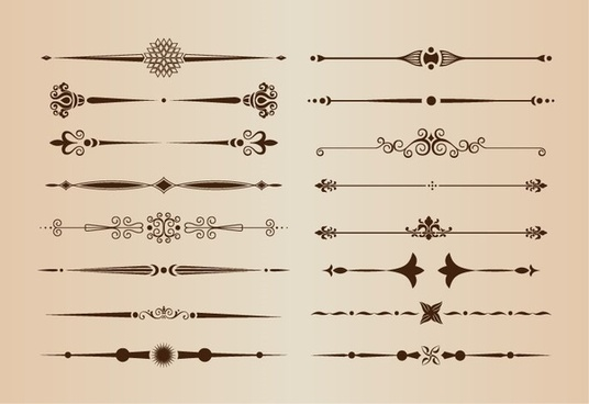 Calligraphic design free vector download (1,281 Free vector) for