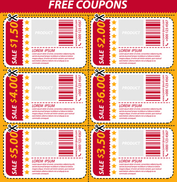 Coupon vector free vector download (115 Free vector) for commercial - coupon format