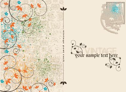 Vintage postcard template free vector download (20,301 Free vector