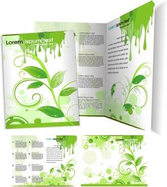 Blank brochure template free vector download (18,309 Free vector