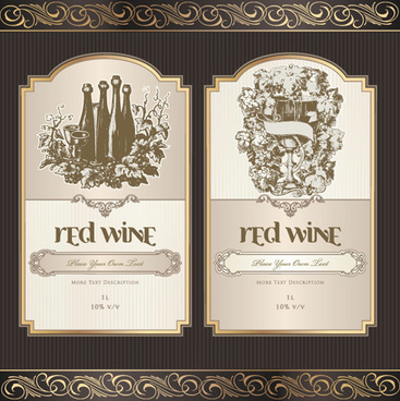 Wine label free vector download (8,761 Free vector) for commercial - wine label