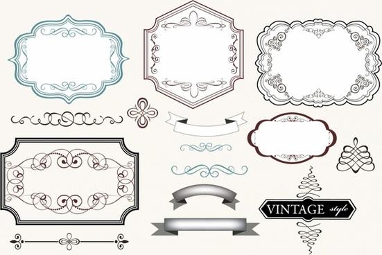Vector vintage label templates free vector download (24,539 Free - label templates free