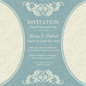 Holiday invitation background eps free vector download (189,395 Free