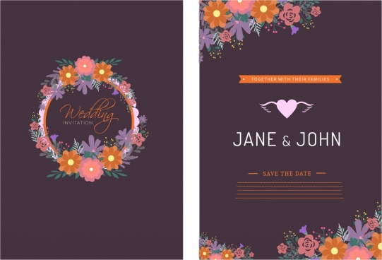 Wedding card template coreldraw free vector download (25,456 Free - wedding template