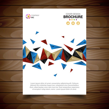 Modern brochure template free vector download (21,896 Free vector
