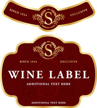 Coreldraw wine label free vector download (12,437 Free vector) for