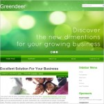 Green Website Templates Free