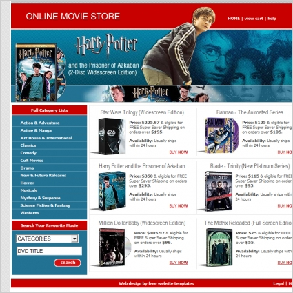 website store template - Alannoscrapleftbehind
