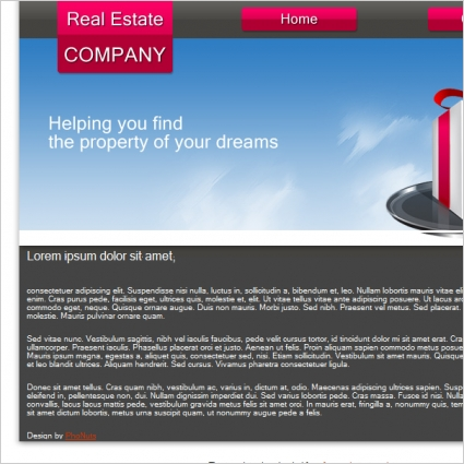 Real Estate Company Template Free website templates in css, html, js - company profile sample download